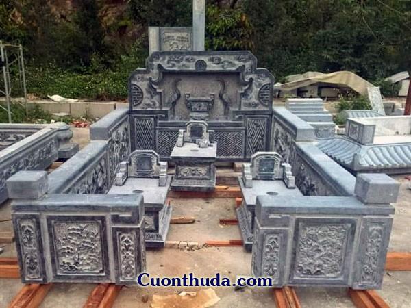 Mẫu mộ gia đình CTH 02