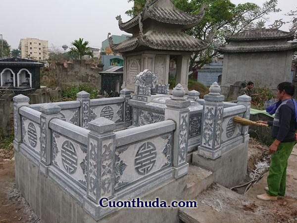 Mẫu mộ gia đình CTH 09